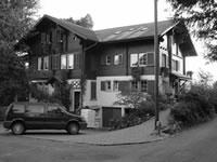 Haus der Tierarztpraxis Dr. G. Morgenegg